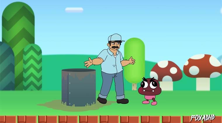 Youtube: Ein echter Klemptner in der Welt von Mario