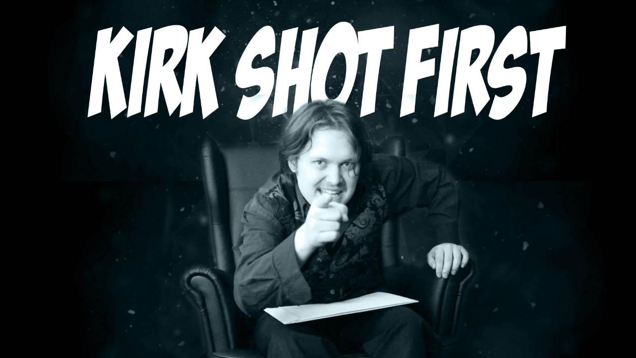 Video: Was ist Kirk Shot First?
