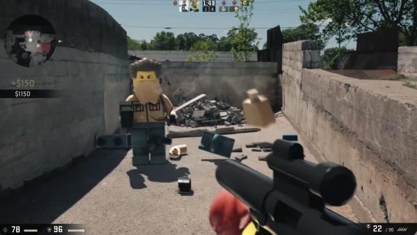 Lego als Ego-Shooter