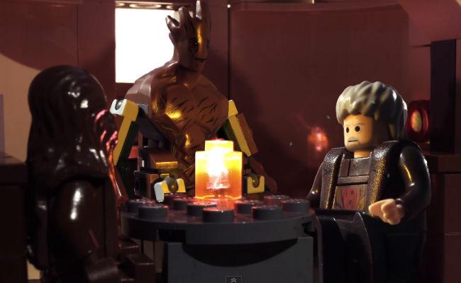 Lego Film: Groot, Hodor und Chewbacca gehen in eine Bar
