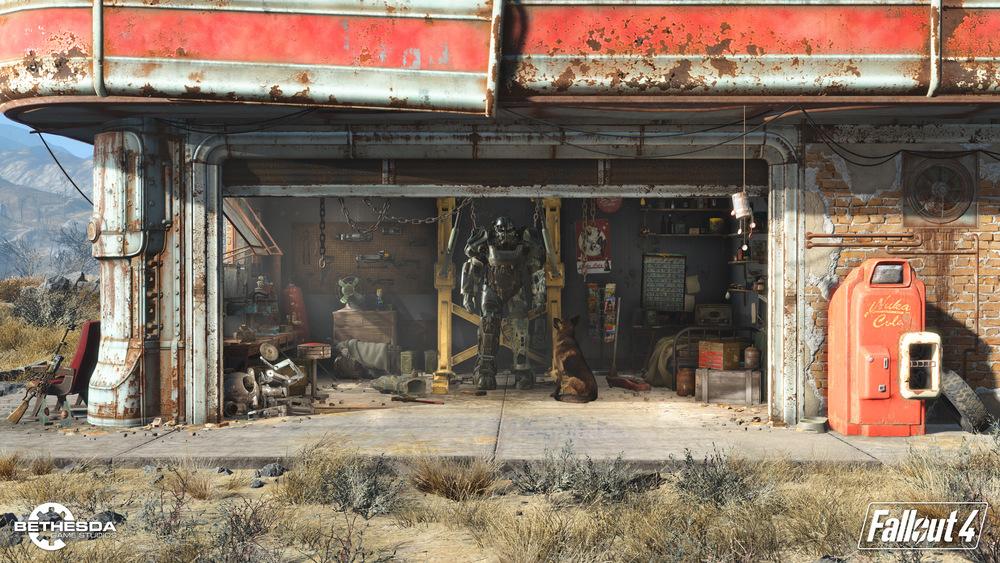 Fallout 4: Genialer Ingame Trailer